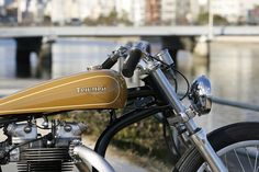 THE LONG PEACE Triumph T110 by Heiwa Motorcycles ~ Return of the Cafe Racers
