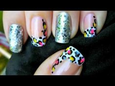 leopard and glitter french