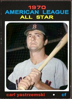 1971 Topps Carl Yastrzemski All-Star, Boston Red Sox, Baseball Cards That Never Were