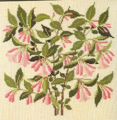 Gallery.ru / Фото #11 - Flowers and Berries in Cross Stitch - Mosca