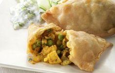 vegetarian samosa  (tried one's similar at disneys animal kingdom Tusker House)....definitely making these!