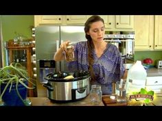 Shoshanna's Kitchen - Episode 98 - Yummy Tincture (she has a lot of Herbal remedy videos)