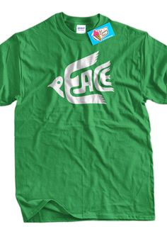 Funny Peace Dove Anti  War  TShirt  Peace Tee by IceCreamTees, $14.99