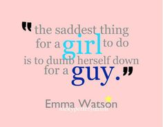 Emma Watson Quotes - Emma Watson - Fanpop gosh i love her? Who needs guys anyways? Single and free!