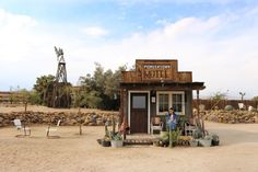 Travel episode and article about Pioneertown in the Mojave Desert. Mojave Desert, Travel Vlog, True Nature, Motel, Deserts, Cabin, House Styles, World, Desserts