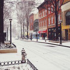 Broad St. NW, Georgia State University, Tuesday, January 28 2014 at 1:30 p.m. #GSU #Atlanta #FairliePoplar
