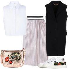 95868d32e4 95 fantastiche immagini su Cose da indossare | Crepes, Office attire ...