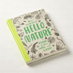Hello Nature: Draw, Color, Make, & Grow Kids Color + Reviews | Crate and Barrel