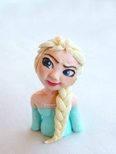 Princess Elsa from Frozen Step-by-Step Fondant Tutorial
