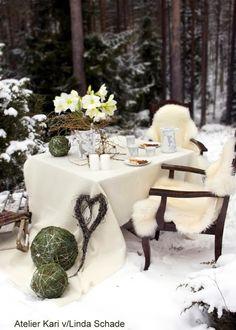 Atelier Kari naturdekorasjoner og kranser: Karis Julekalender - Luke 5