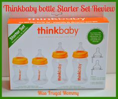 Thinkbaby bottle Starter Set Review (Getting Ready For Baby Gift Guide)