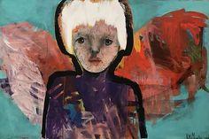 "Stort maleri ""Bak deg"" original akryl 150x100 cm | marsteinart"