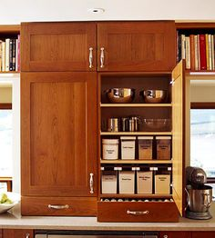Nice pantry - especially like the containers!