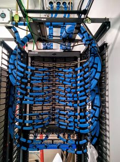 Contractor just finished our network room..so impressed! - Imgur