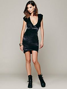 Free People Dare To Bare Mini Dress