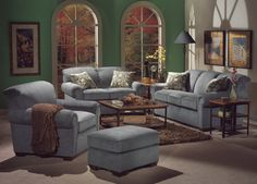 Trail Ridge Living Room Set by Flexsteel at Crowley Furniture in Kansas City