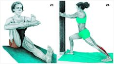 Full Body Stretching Exercises – 34 Best Stretching Exercises in Flexibility Routine Best Stretching Exercises, Muscle Stretches, Calf Stretches, Chest Muscles, Calf Muscles, Big Muscles, Flexibility Routine, King Pigeon Pose, Fitness Exercises