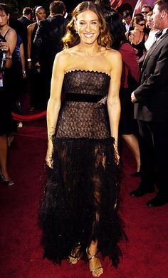 The 25 Sexiest Emmys Looks of All Time - Sarah Jessica Parker, 2004  - from InStyle.com