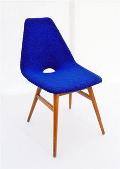 Guariche Tonneau Inspired Erika Chair designed by Judit Burián, 1959