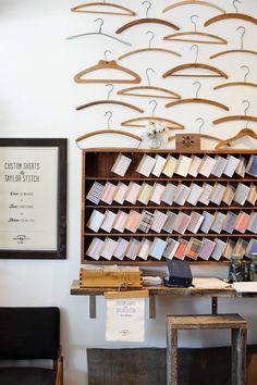 Taylor Stitch men's shop, SF  #retail #merchandising #fashion #display #windows
