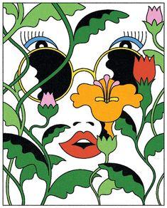Creative Illustration, Lan, and Truong image ideas & inspiration on Designspiration Psychedelic Art, Sketches, Art Inspo, Illustration, Drawings, Hippie Art, 60s Art, Art, Pop Art