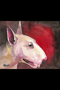 Watercolor bullie