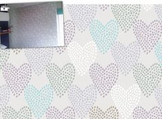 A thrilled Camps Bay mom sent this snapshot of our Dotted Hearts wallpaper, freshly applied in her daughter's bedroom. After ages spent hunting for the perfect wallcovering, she discovered our Dotted Hearts design, although the original neutral colours weren't quite right for her colour scheme. We decided to add a …