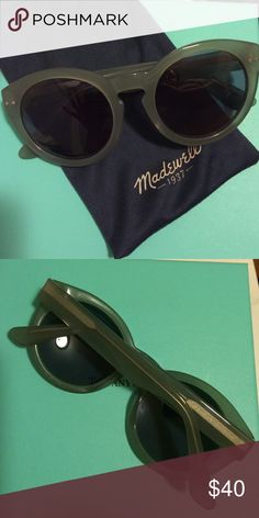 Madewell Leonard II These are in excellent used condition! No scratches! No flaws! Great resemblance to Illesteva Leonard II shades. Please ask questions  Madewell Accessories Sunglasses