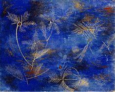"dappledwithshadow: "" Fairy Tales, Paul Klee c. 1920 """