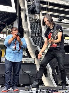 Shooting on Stage