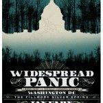 #Widespread Panic gig poster.