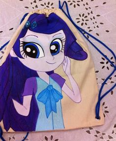 Mochila Little Poney. ateliepetit@hotmail.com
