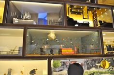 Interieur Maquette met 3D print meubelen op Material Xperience   Bouwbeurs Utrecht via www.stijlidee.nl