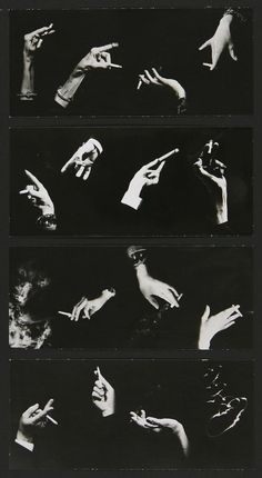 saloandseverine: Man Ray, Hands montage, composed by Peter Grassman, 1964