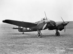Ww2 Aircraft, Fighter Aircraft, Fighter Jets, Bristol Beaufighter, Plane And Pilot, Machine Guns, Royal Air Force, Helicopters, Pilots