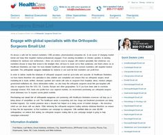 7 Best Healthcare Email and Mailing Databases images | Email