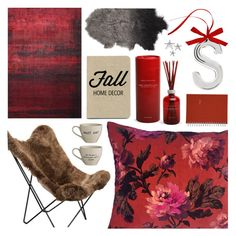 """""""Fall Home Decor"""" by pastelneon ❤ liked on Polyvore featuring interior, interiors, interior design, home, home decor, interior decorating, Holiday Lane, Archipelago Botanicals, Mead and Bloomingville"""