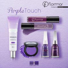 ¡Amamos el color! El maquillaje de hoy es en tonos lila.