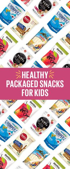 Stock up on these healthy packaged snacks before your kids head back to school. Nutritionist recommended!