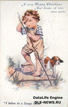 старинные открытки для декупажа