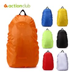 Actionclub 50-60L Raincover Protable Waterproof Backpack Rain Cover For Travel Camping Hiking Cycling Outdoor Bag Cover SH369