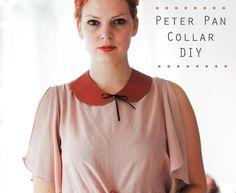 Esta gola Peter Pan é o complemento perfeito para qualquer roupa.