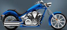 2012 Honda Fury blue color