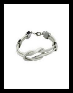 Leather and stainless steel hand made bracelets at www.fashionboutique.co.za
