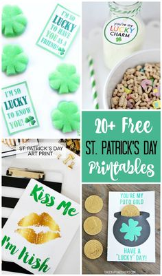 Over 20 St. Patrick's Day Free Printables!