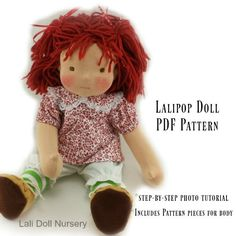 PDF Pattern - Lali Pop Doll
