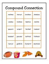 27 best Teaching - ELA: Compound Words images on Pinterest ...
