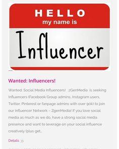Online Marketing, Social Media Marketing, Digital Marketing, Model Supplies, Mr Fox, Generation Z, Hello My Name Is, Social Media Influencer, Instagram Users