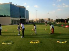 Great to have the program up and running at Sharjah Golf & Shooting Club   #growingthegame #golfdxb #golfshj