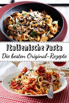 In Urlaubslaune? Unsere Rezepte für original Italienische #Pasta bringen dir ein bisschen Bella Vita auf den Esstisch! #italienisch #pastaamore